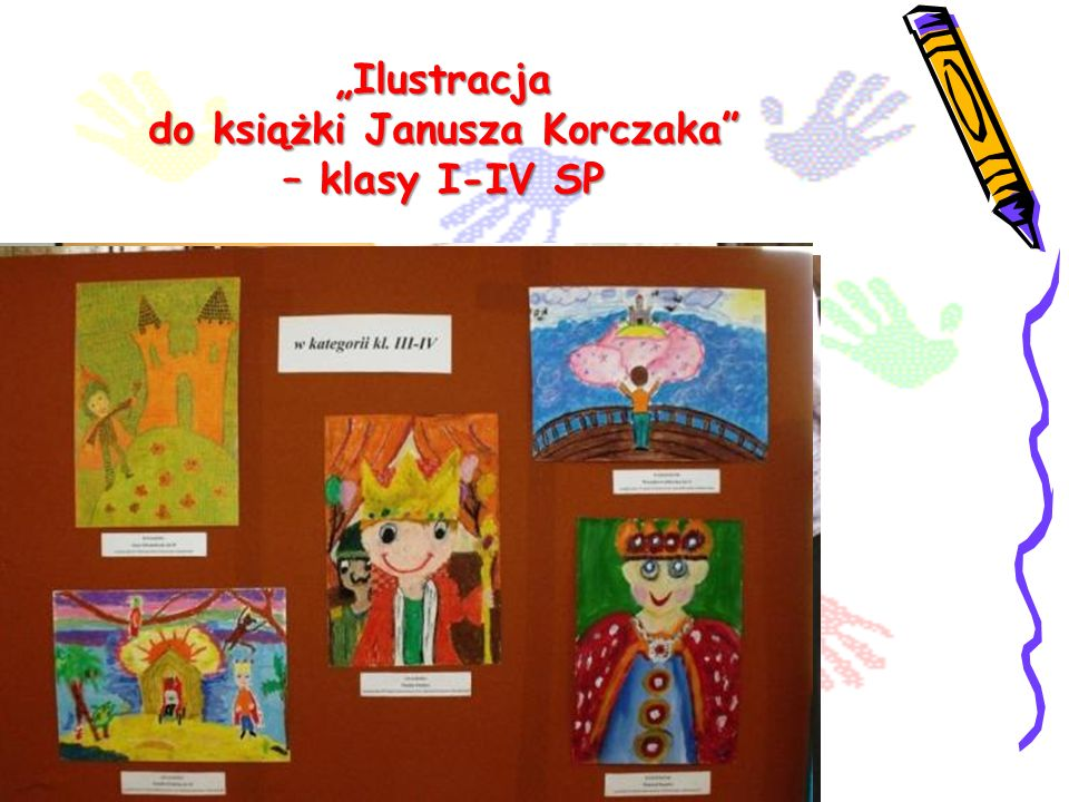 """""""Ilustracja do książki Janusza Korczaka – klasy I-IV SP"""
