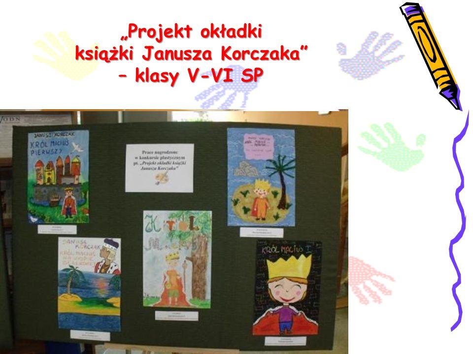 """""""Projekt okładki książki Janusza Korczaka – klasy V-VI SP"""