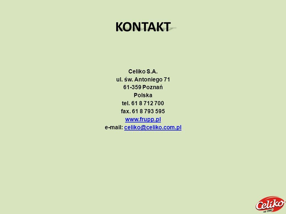 e-mail: celiko@celiko.com.pl