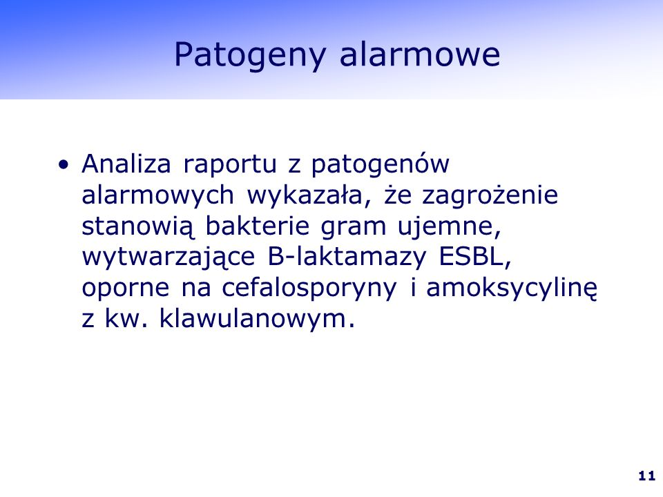 Patogeny alarmowe