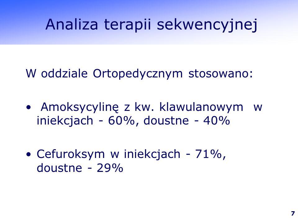 Analiza terapii sekwencyjnej
