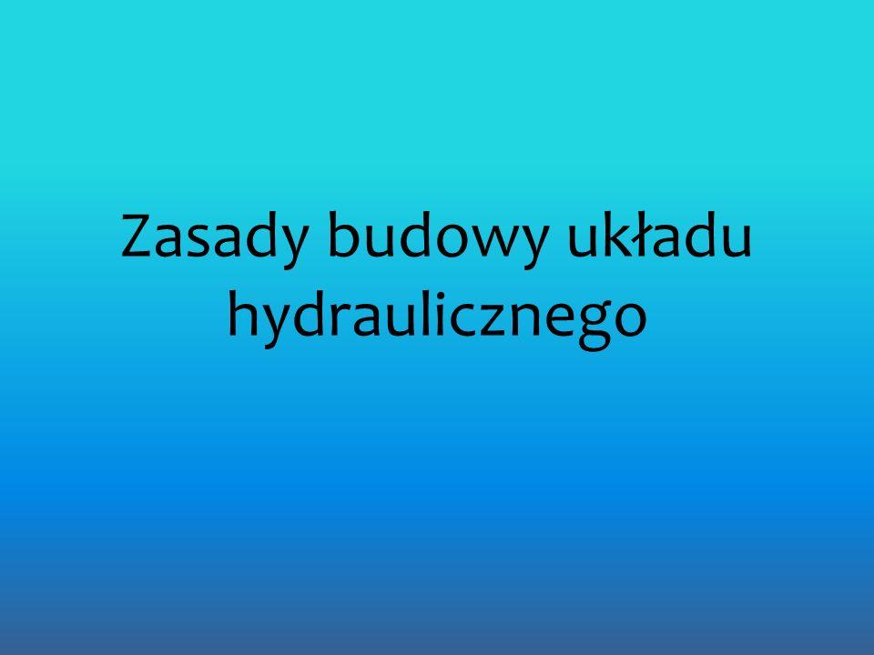Zasady budowy układu hydraulicznego