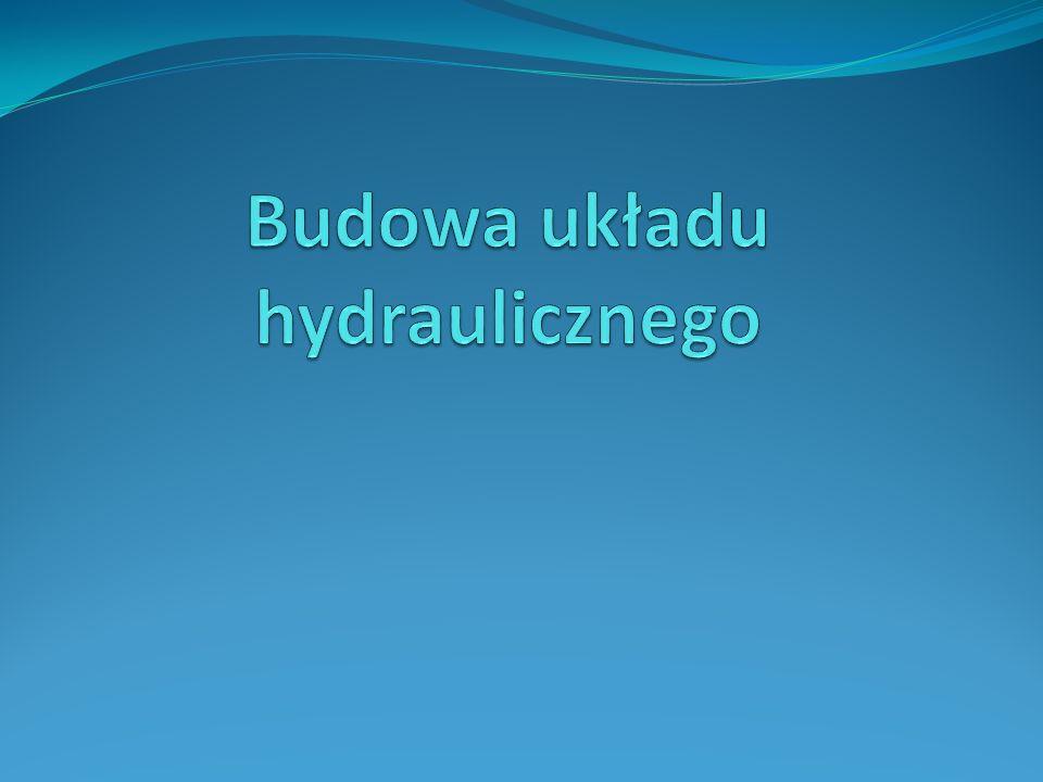 Budowa układu hydraulicznego