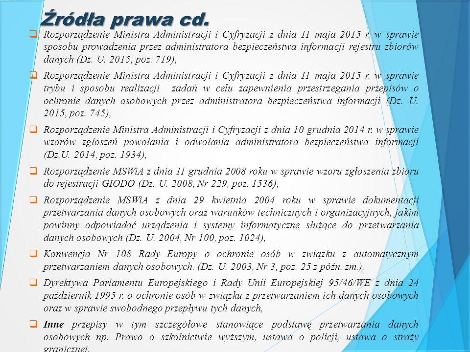 Źródła prawa cd.
