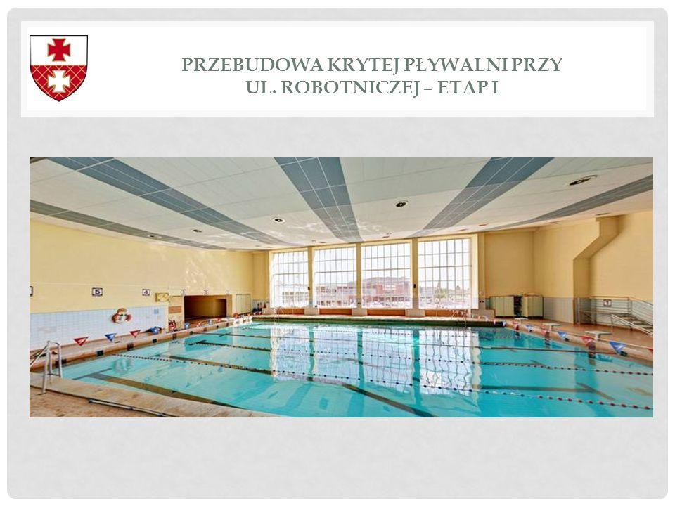 Przebudowa krytej pływalni przy ul. Robotniczej – etap I