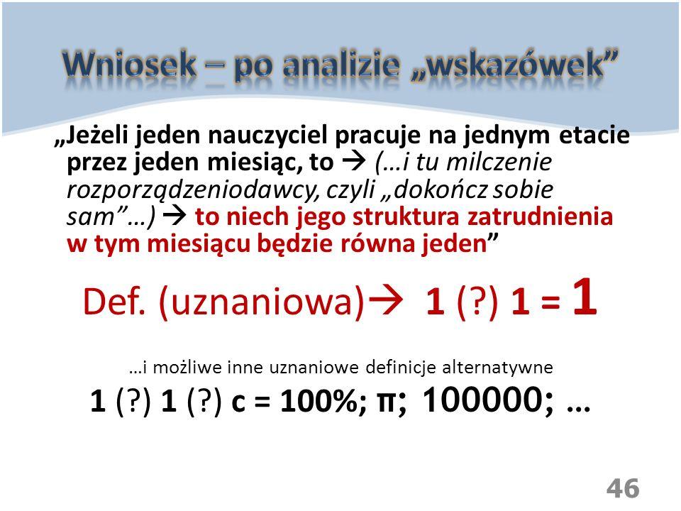 """Wniosek – po analizie """"wskazówek"""