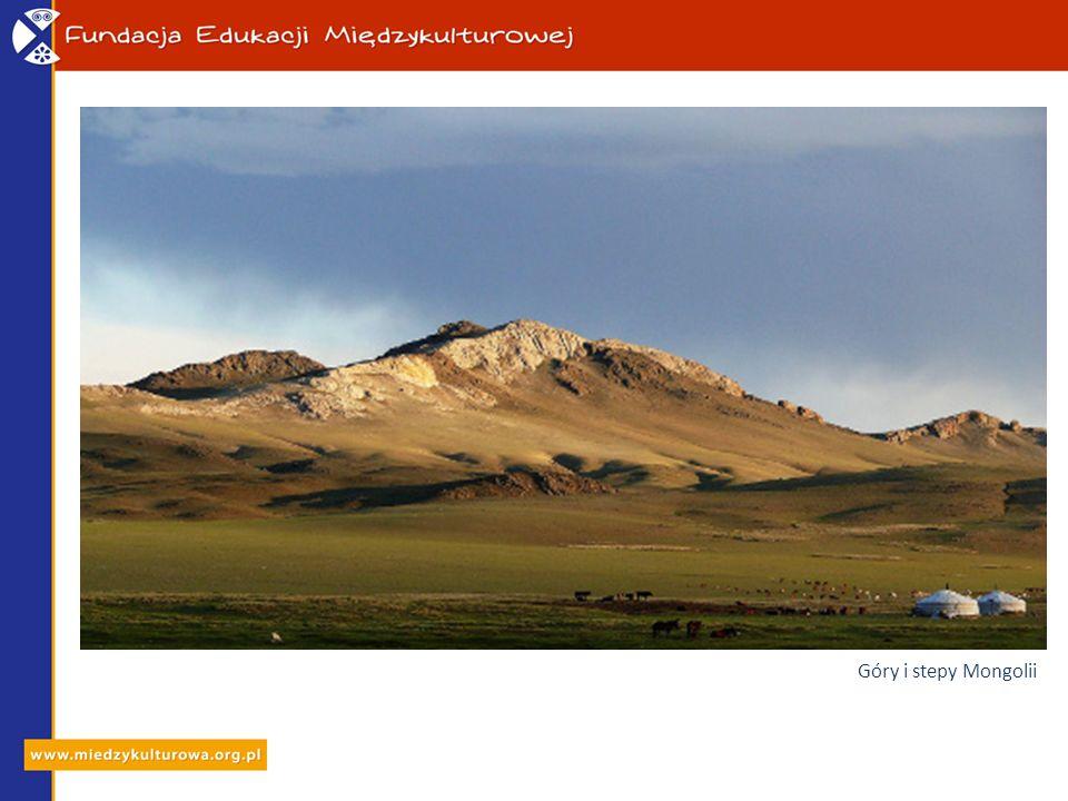 Góry i stepy Mongolii