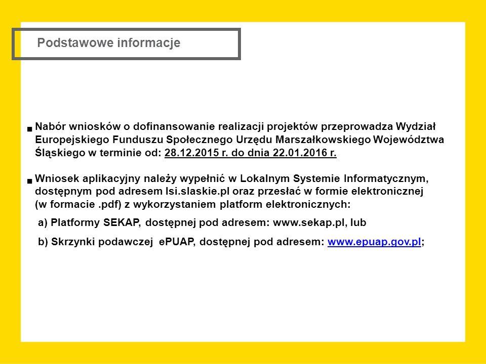 a) Platformy SEKAP, dostępnej pod adresem: www.sekap.pl, lub