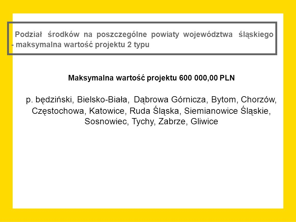 Maksymalna wartość projektu 600 000,00 PLN