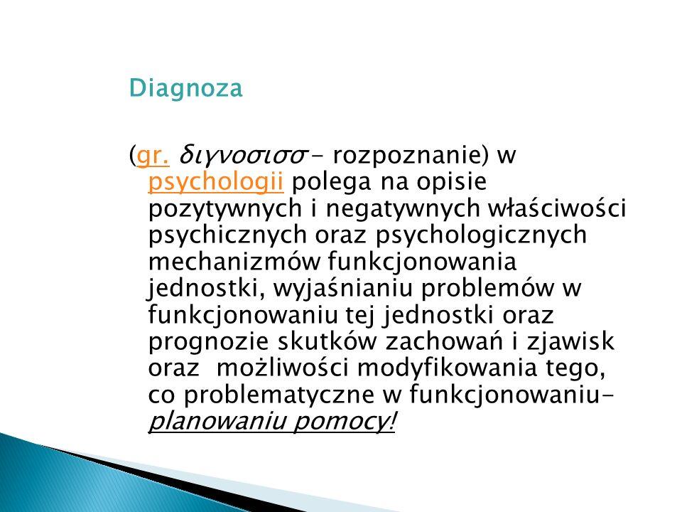 Diagnoza (gr.