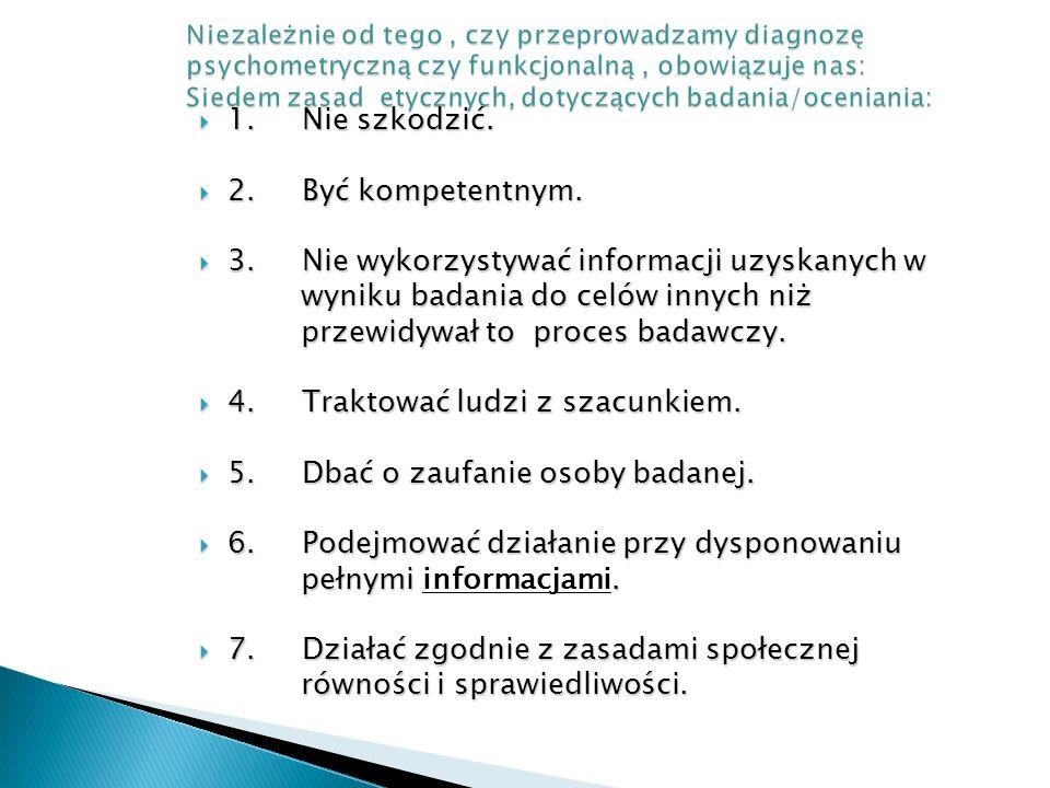 3. Nie wykorzystywać informacji uzyskanych w