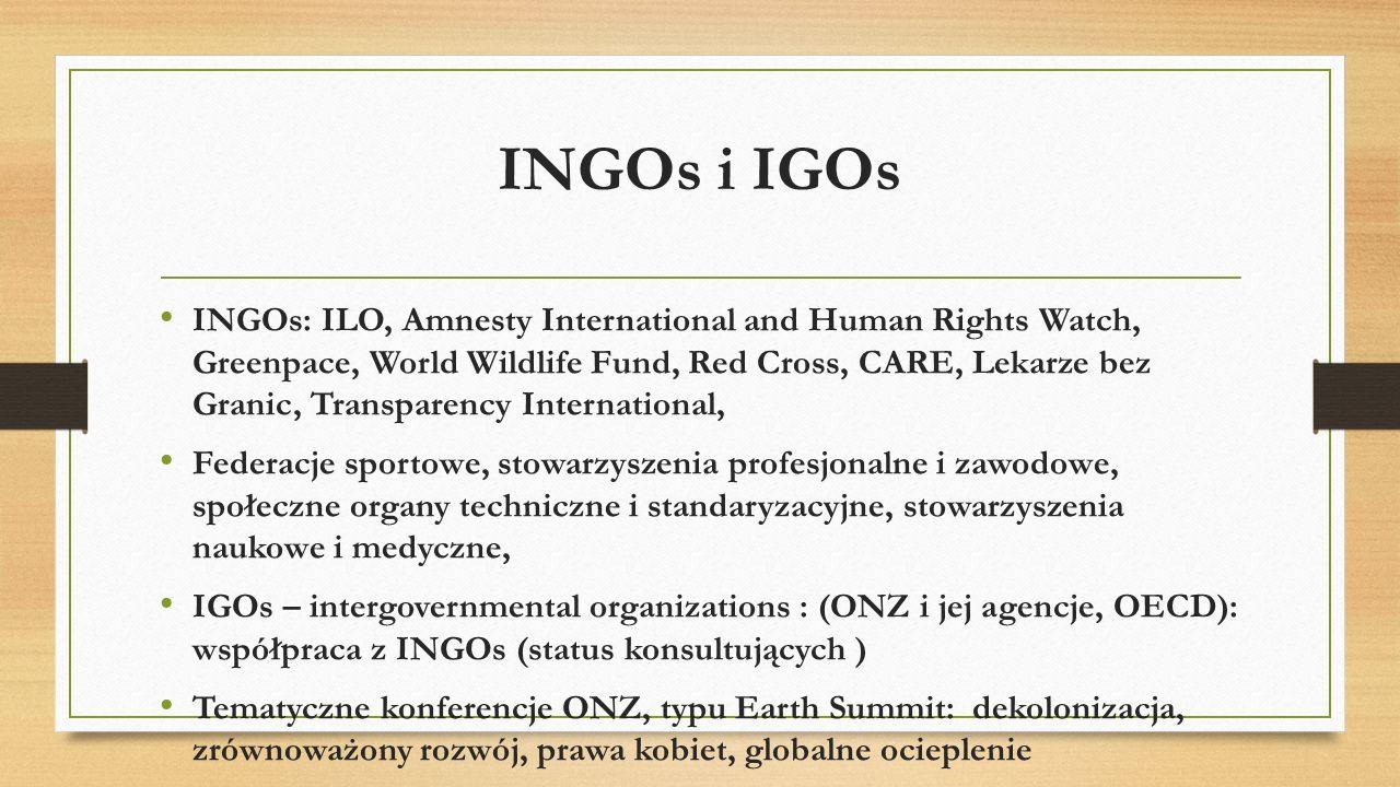 INGOs i IGOs