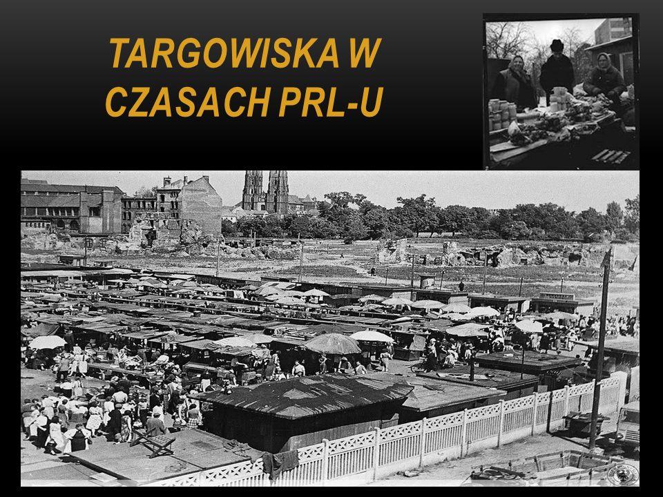Targowiska w czasach PRL-u