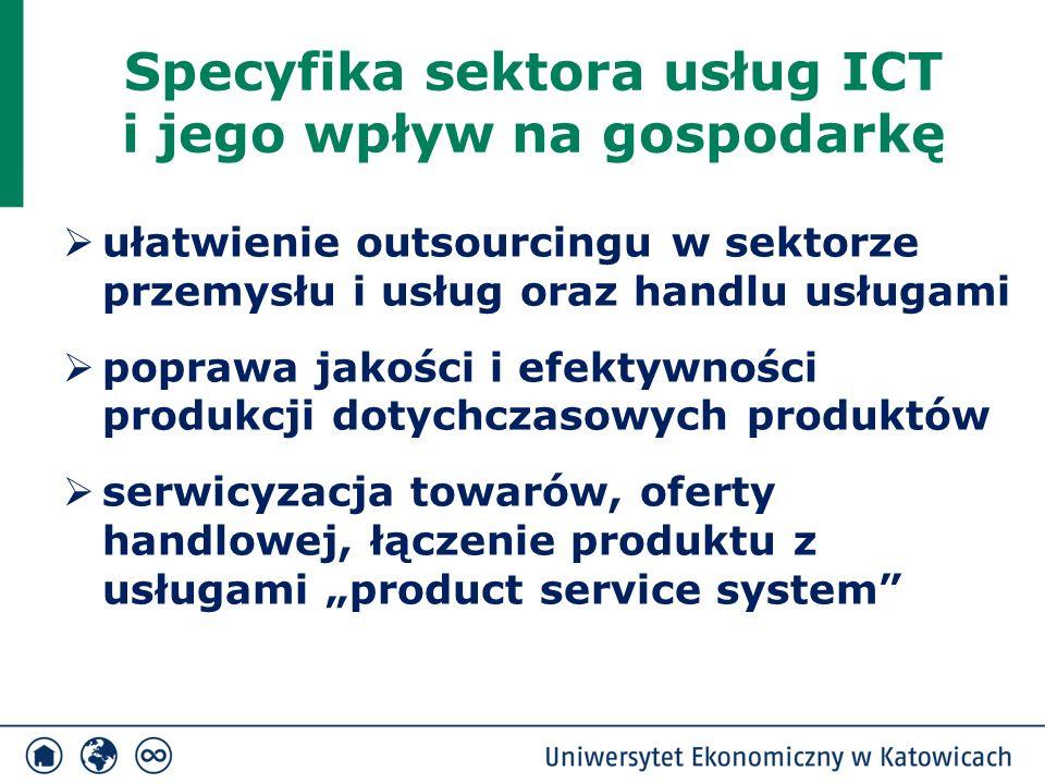 Specyfika sektora usług ICT i jego wpływ na gospodarkę