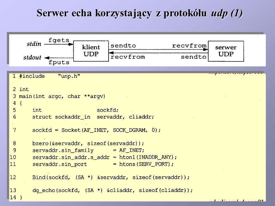 Serwer echa korzystający z protokółu udp (1)