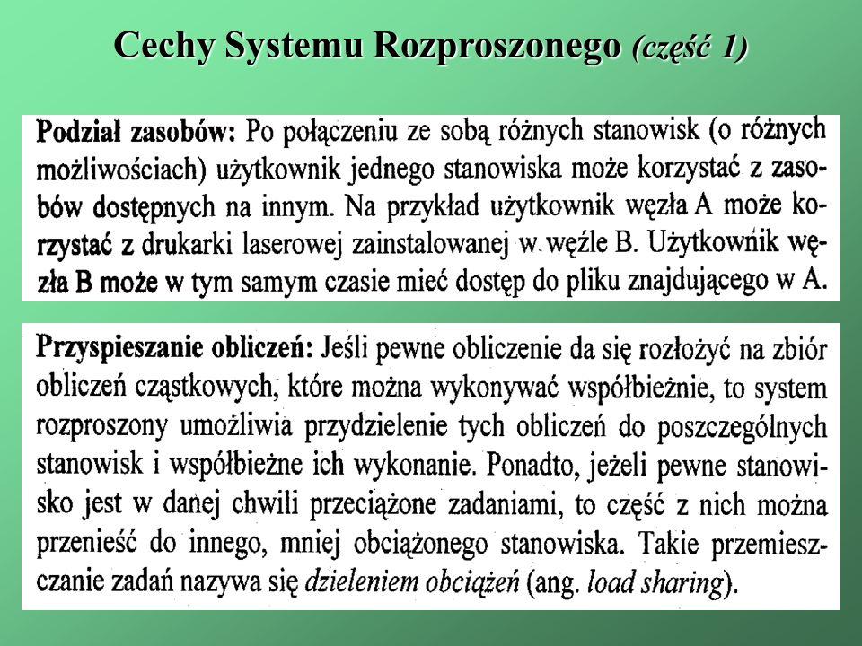 Cechy Systemu Rozproszonego (część 1)