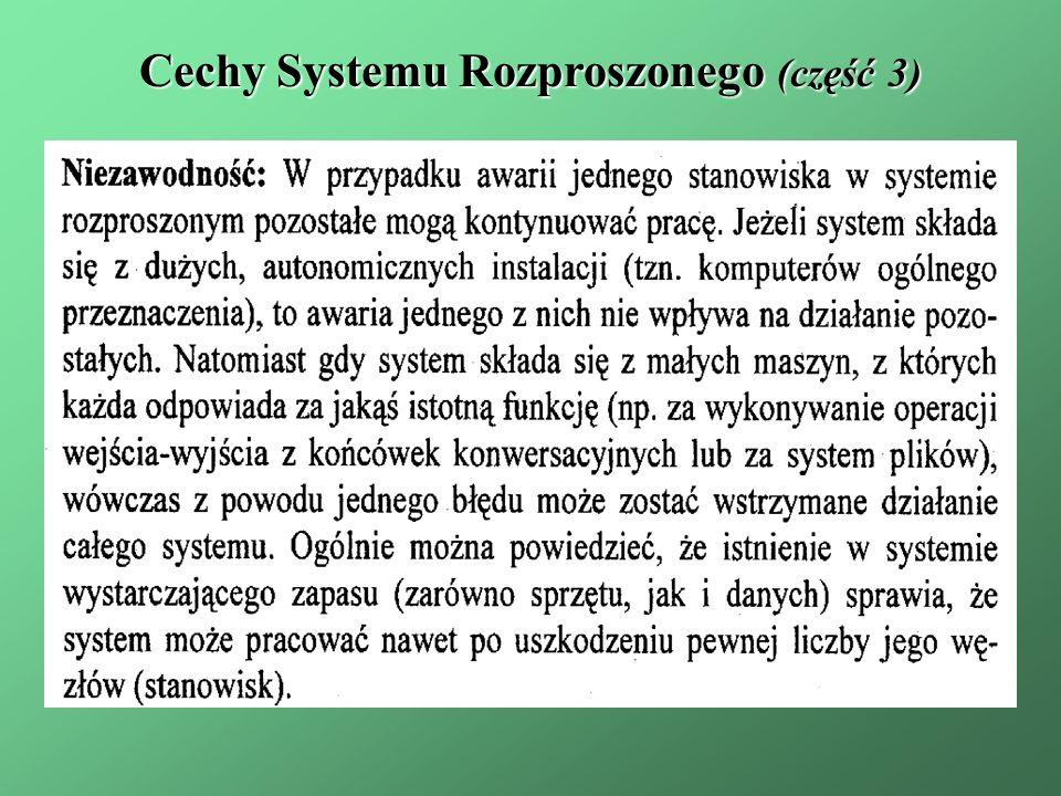 Cechy Systemu Rozproszonego (część 3)