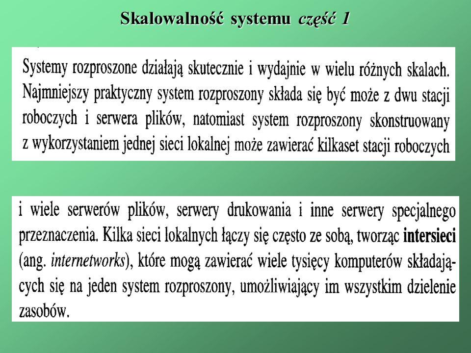 Skalowalność systemu część 1