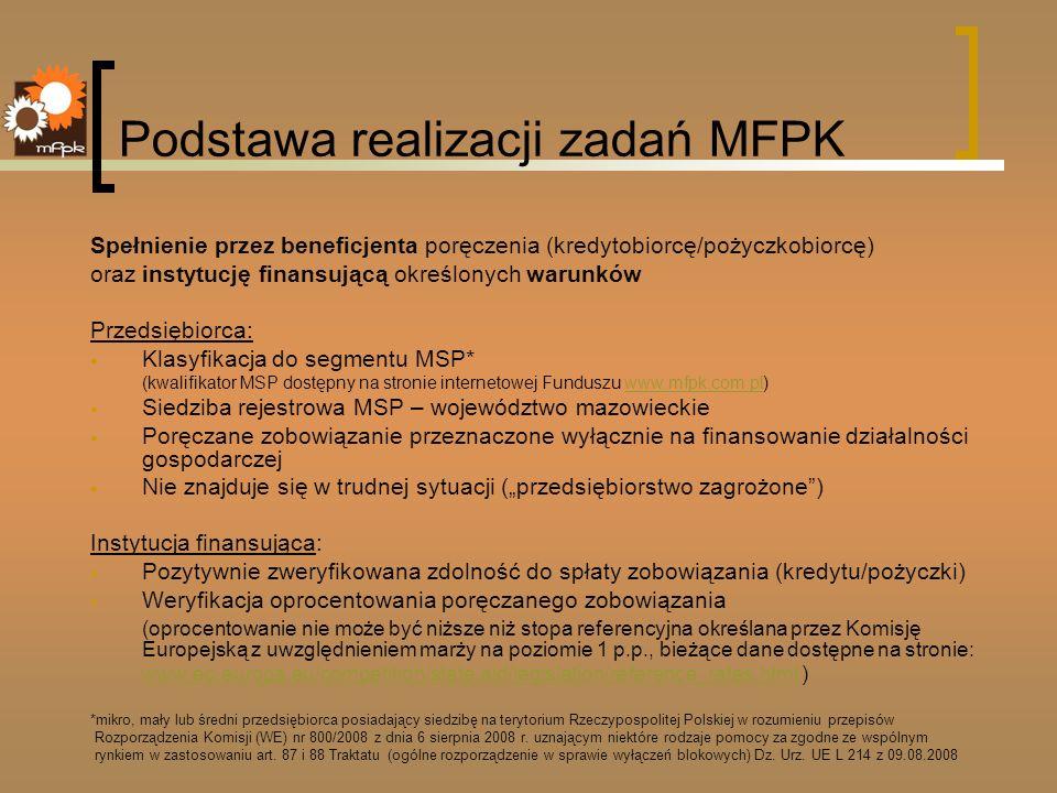 Podstawa realizacji zadań MFPK
