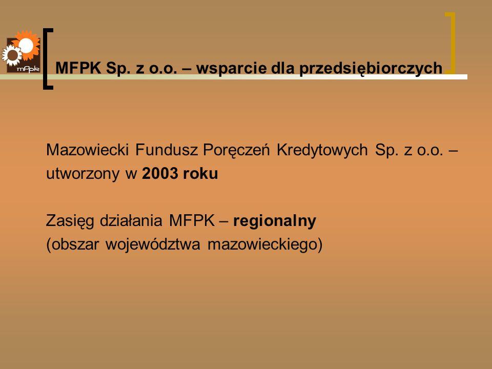 MFPK Sp. z o.o. – wsparcie dla przedsiębiorczych