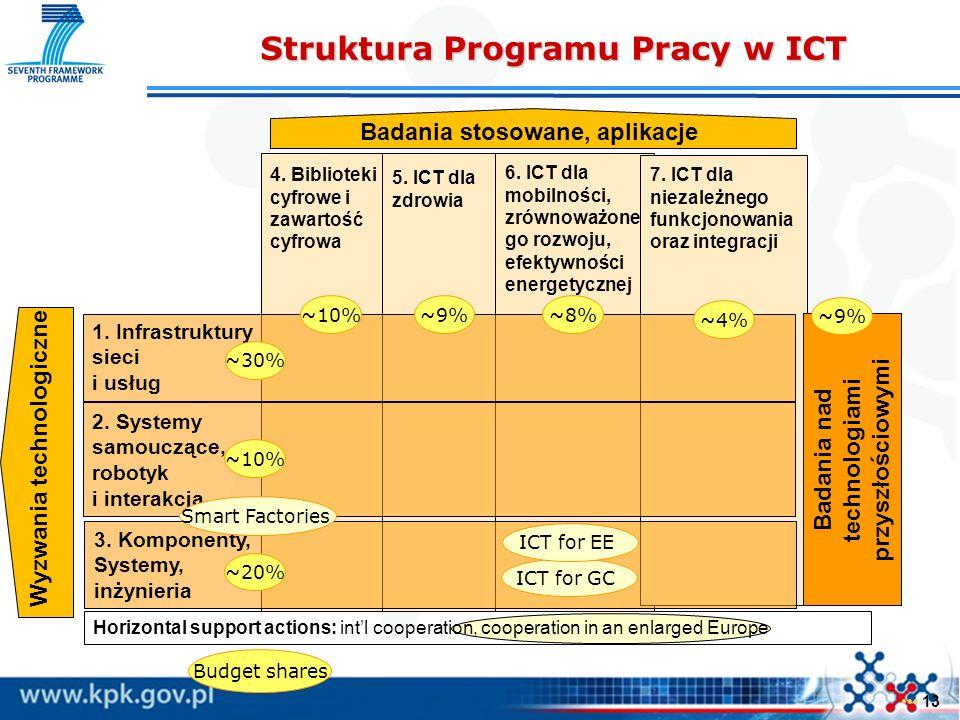 Struktura Programu Pracy w ICT