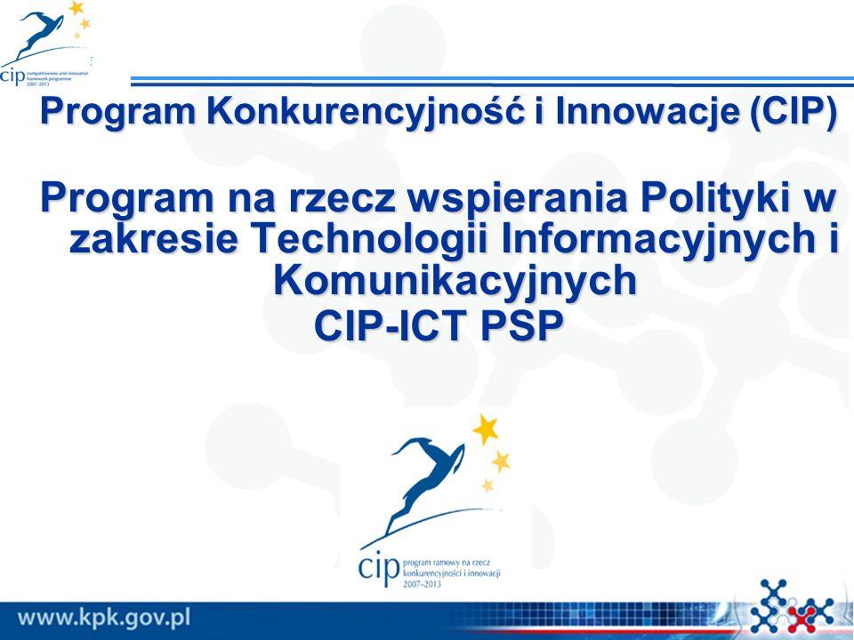 Program Konkurencyjność i Innowacje (CIP)