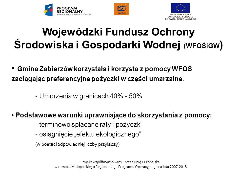 Wojewódzki Fundusz Ochrony Środowiska i Gospodarki Wodnej (WFOŚiGW)
