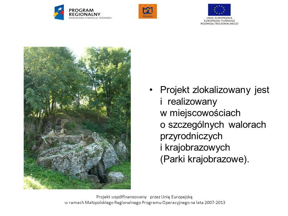 Projekt zlokalizowany jest i realizowany w miejscowościach o szczególnych walorach przyrodniczych i krajobrazowych (Parki krajobrazowe).