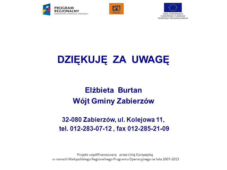 32-080 Zabierzów, ul. Kolejowa 11,