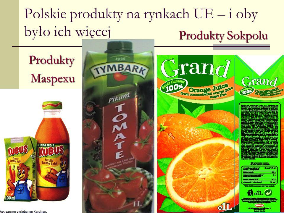 Polskie produkty na rynkach UE – i oby było ich więcej