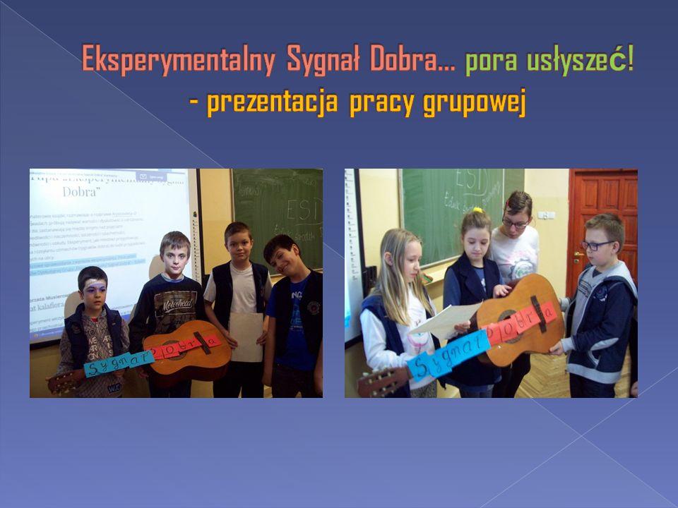 Eksperymentalny Sygnał Dobra… pora usłyszeć