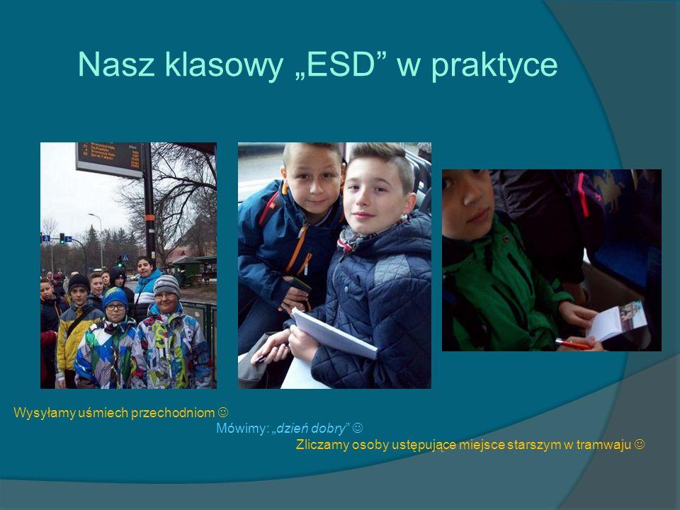 """Nasz klasowy """"ESD w praktyce"""