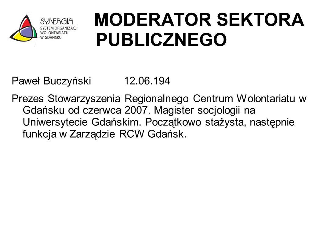MODERATOR SEKTORA PUBLICZNEGO