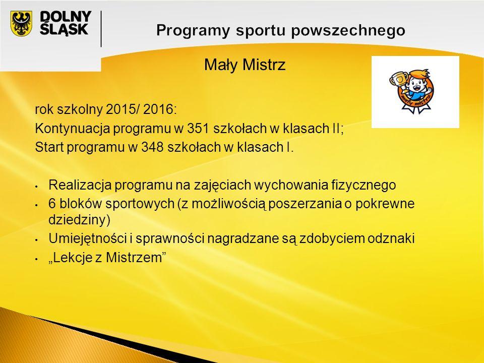 Programy sportu powszechnego