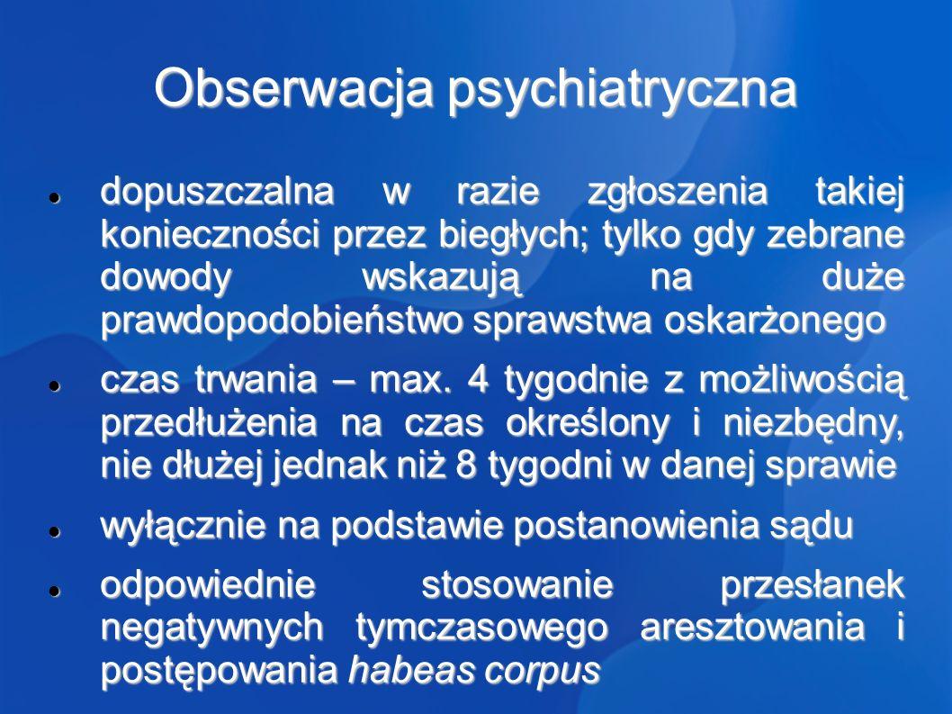 Obserwacja psychiatryczna