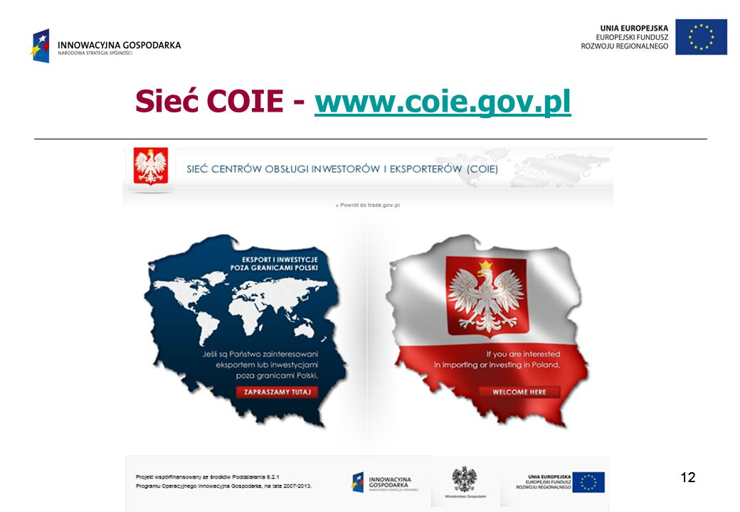 Sieć COIE - www.coie.gov.pl