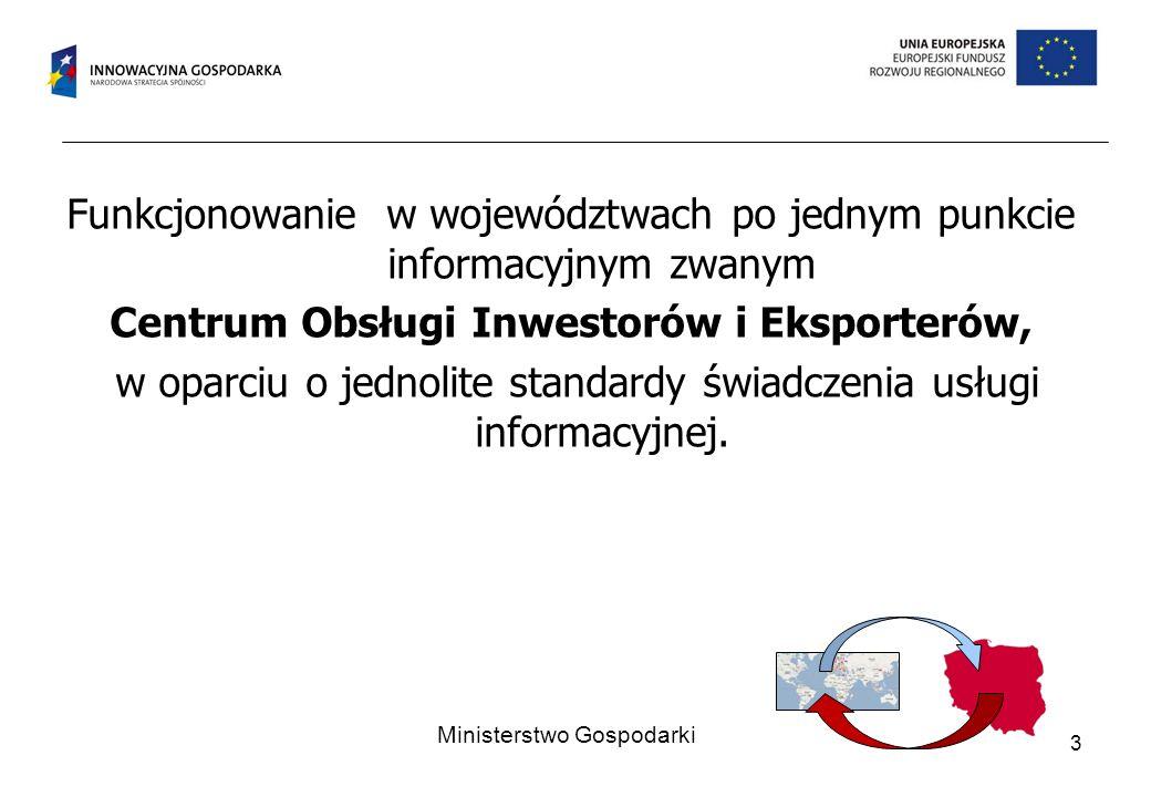 Centrum Obsługi Inwestorów i Eksporterów,