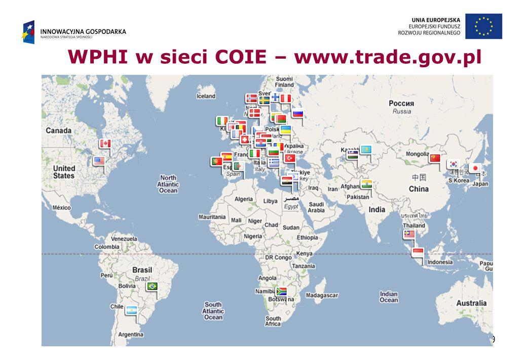WPHI w sieci COIE – www.trade.gov.pl