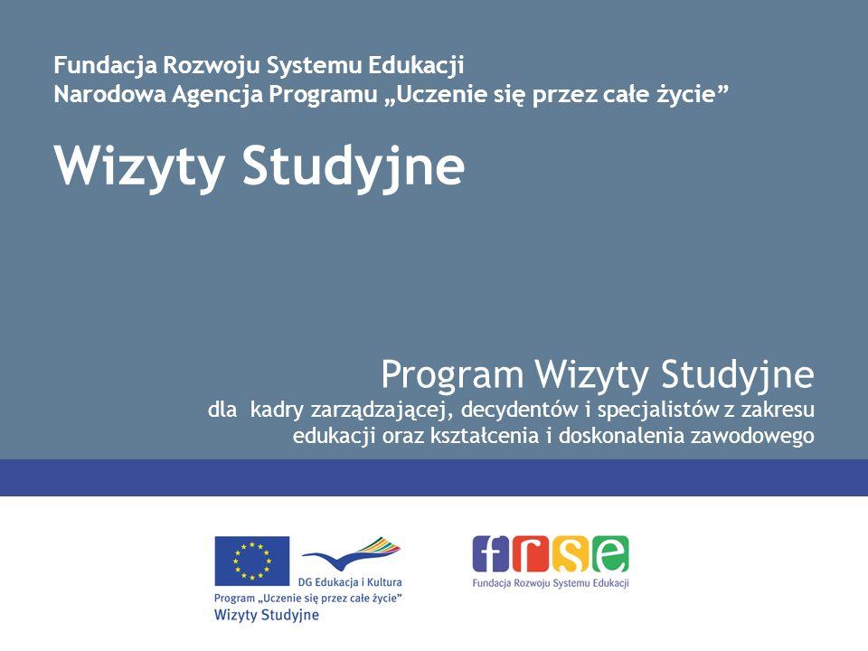 Wizyty Studyjne Program Wizyty Studyjne