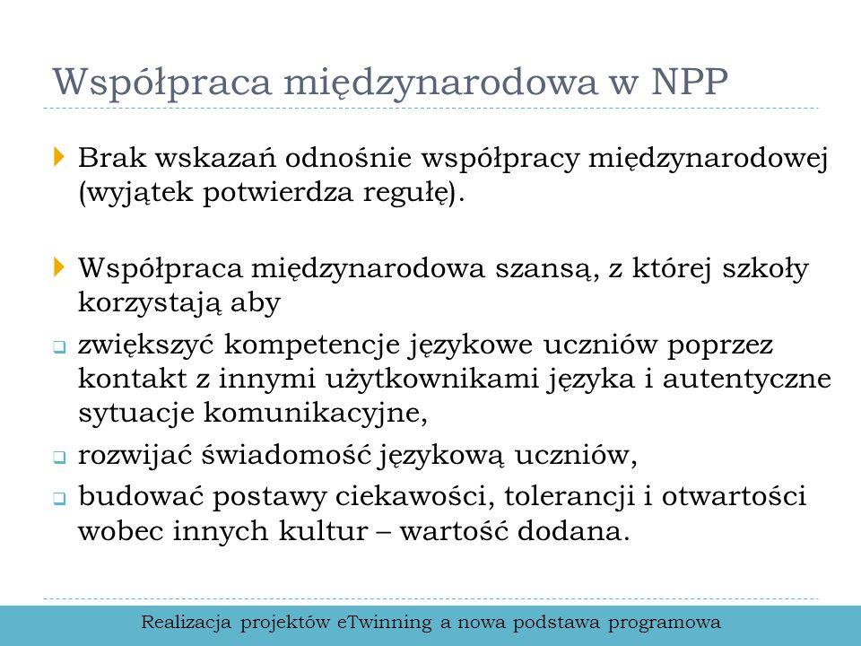 Współpraca międzynarodowa w NPP