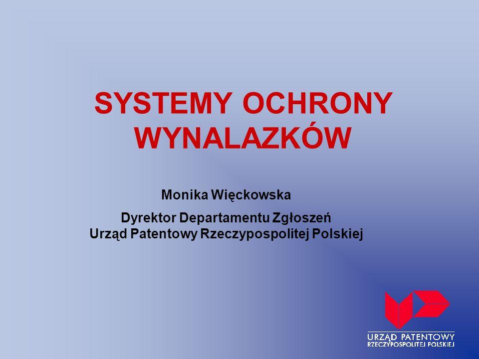 SYSTEMY OCHRONY WYNALAZKÓW