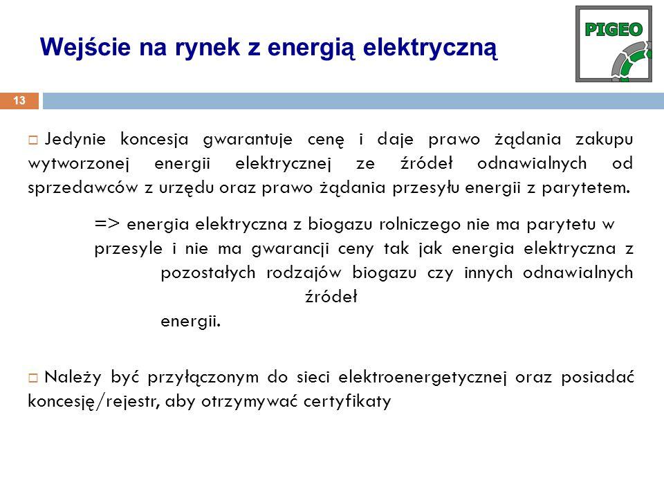 Wejście na rynek z energią elektryczną
