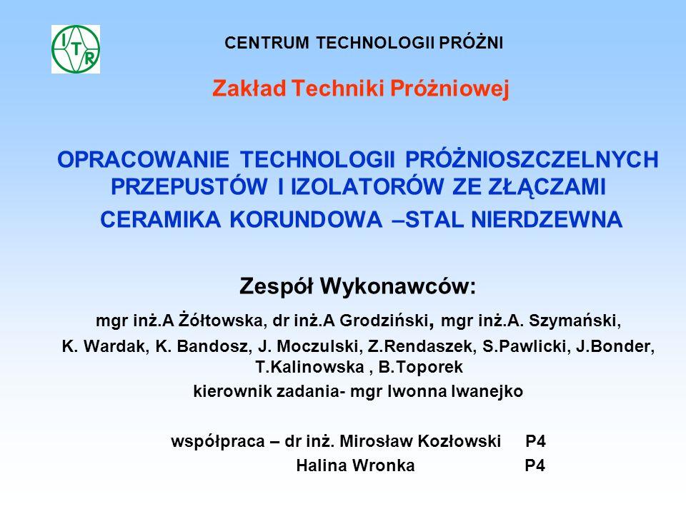 Zakład Techniki Próżniowej