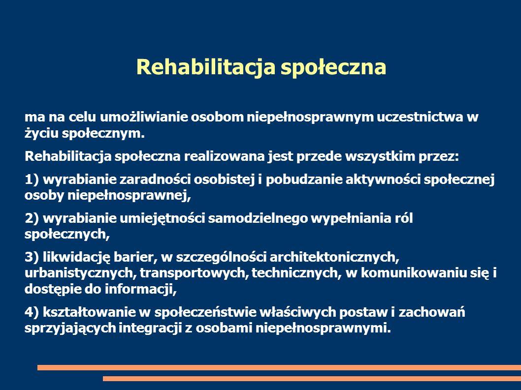 Rehabilitacja społeczna