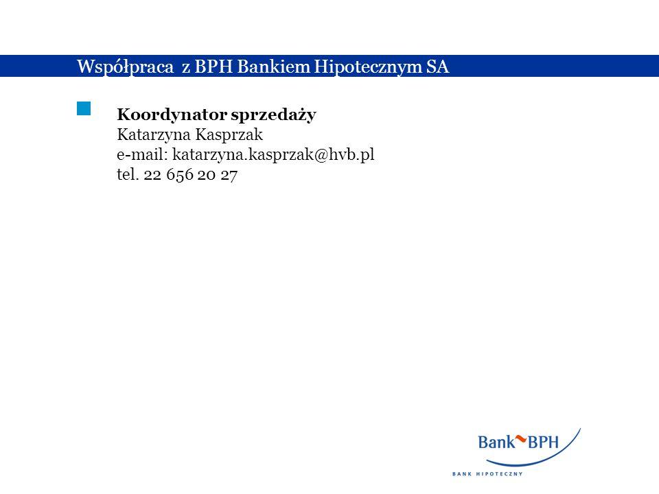 Współpraca z BPH Bankiem Hipotecznym SA