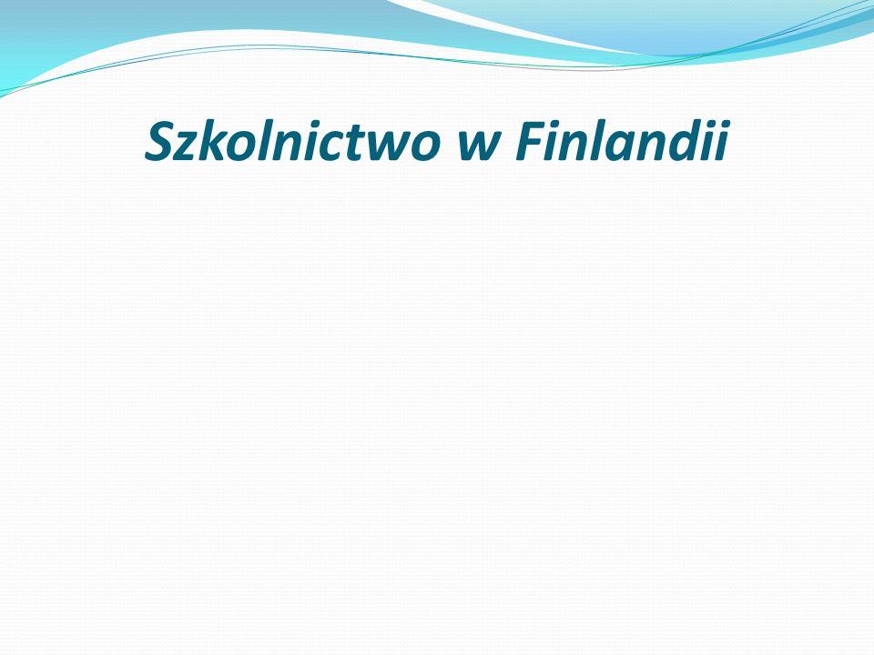 Szkolnictwo w Finlandii
