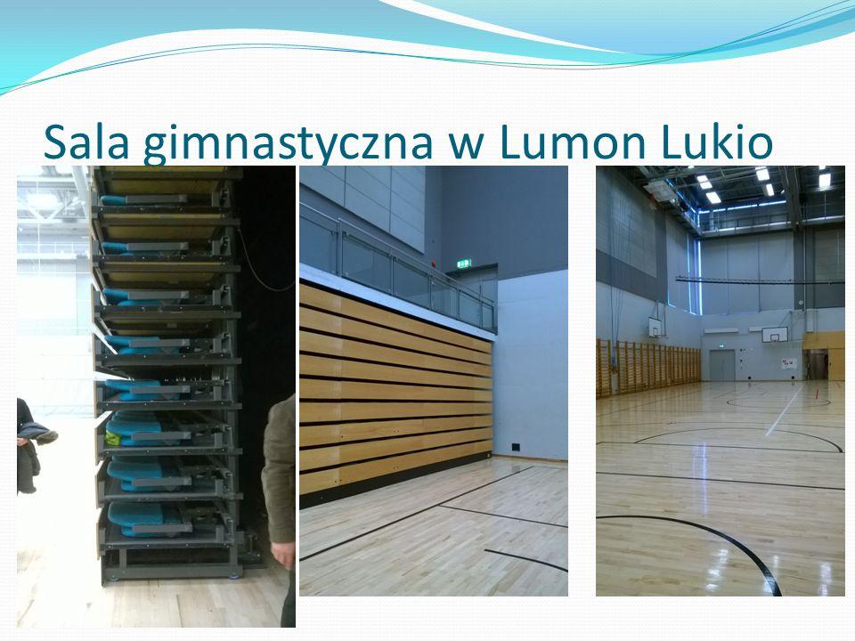 Sala gimnastyczna w Lumon Lukio