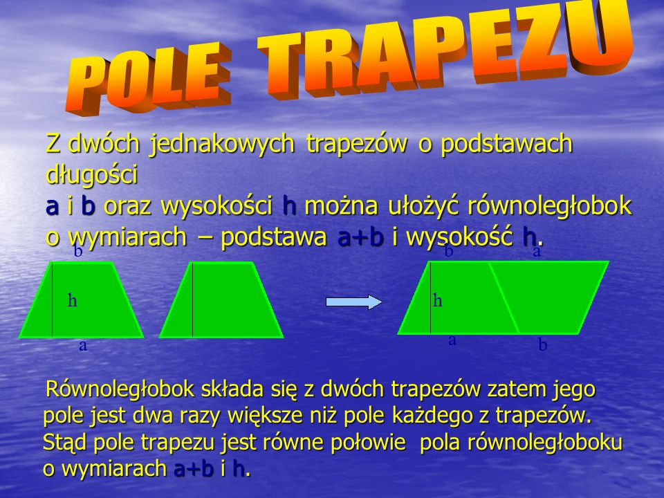 POLE TRAPEZU