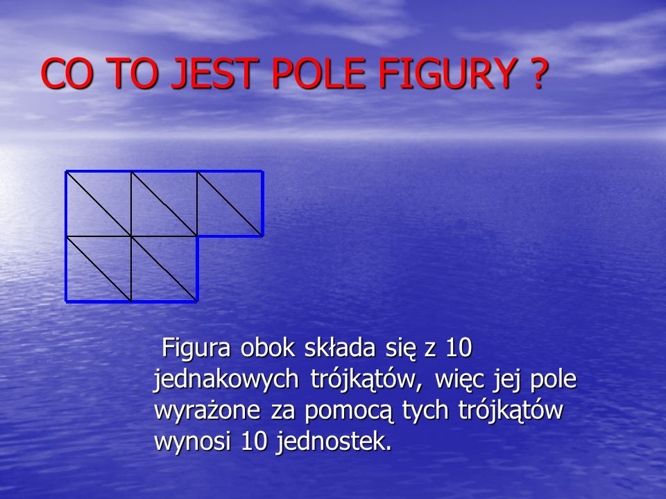 CO TO JEST POLE FIGURY .