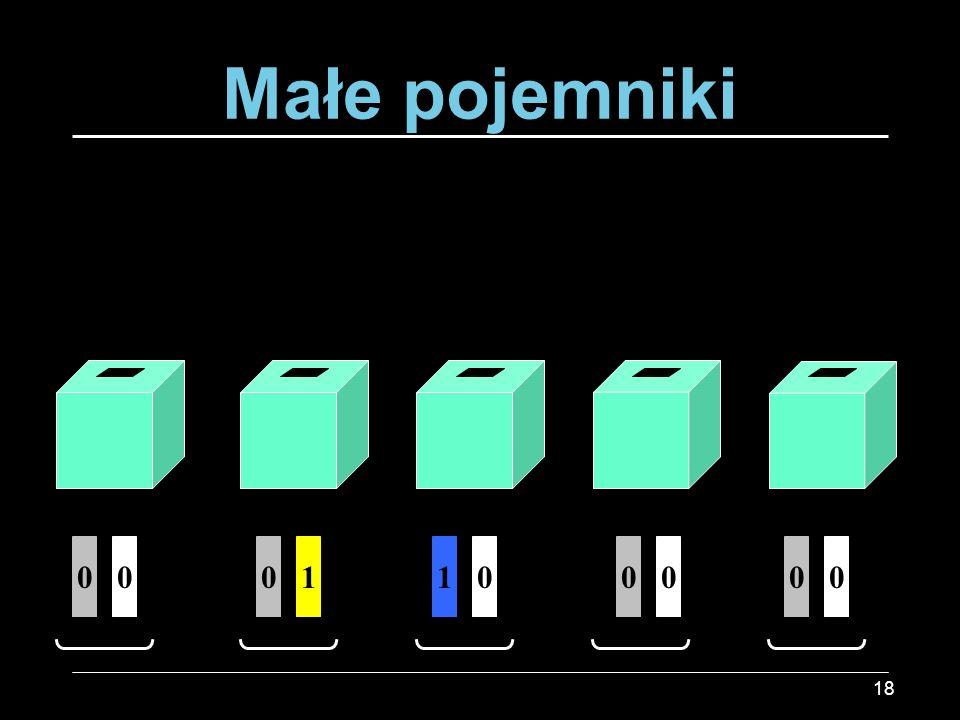 Małe pojemniki 1 1